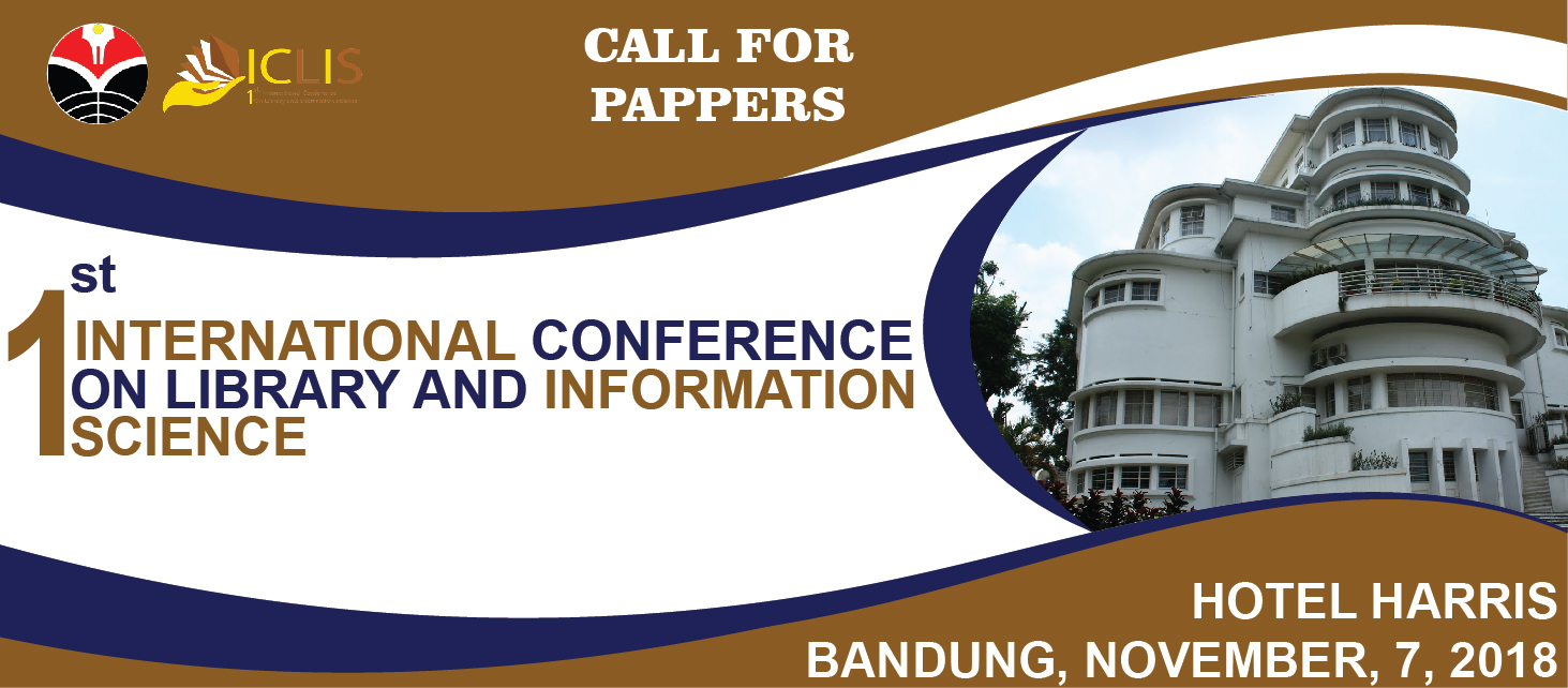 ICLIS 2018 | International Conference on Library and Information